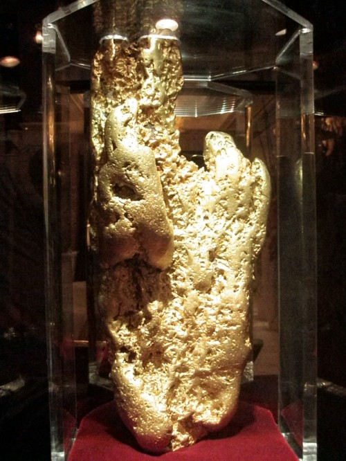 Hand of Faith Gold Nugget