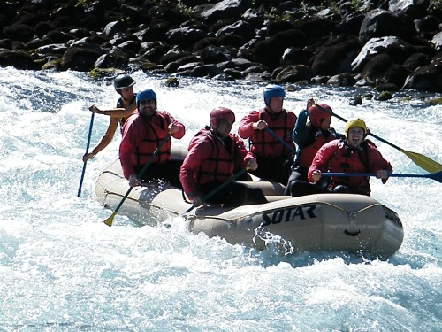 Whitewater Rafting - Petrhue River, Chile