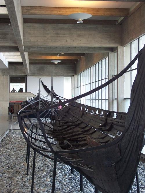 Old Viking Ship - Roskilde, Denmark