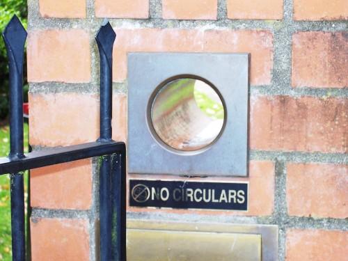 The circular mailbox