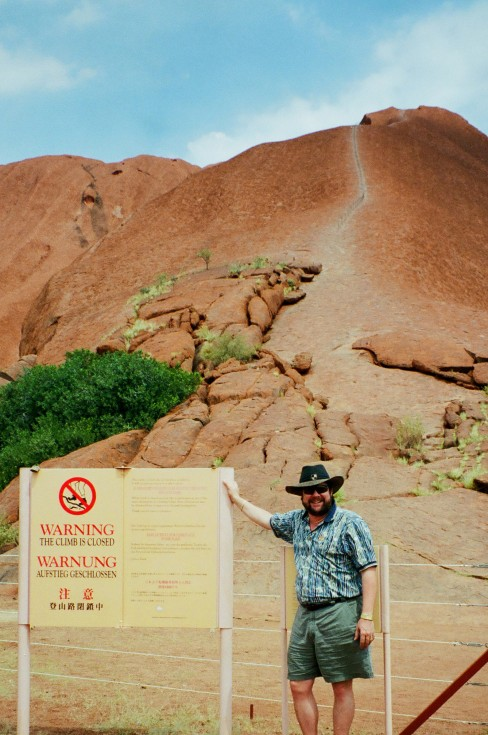 Ayres Rock (Uluru) - Australian Outback