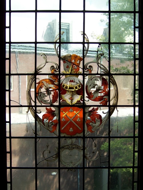 Window at Willet-Holthuysen Museum - Amsterdam