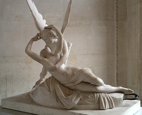 Psyche and Cupid - Paris, France