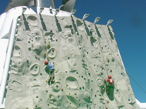 Rock Climbing Wall - Radiance of the Seas