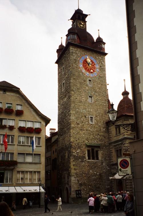 Zyt (Time) Tower - Luzern, Switzerland
