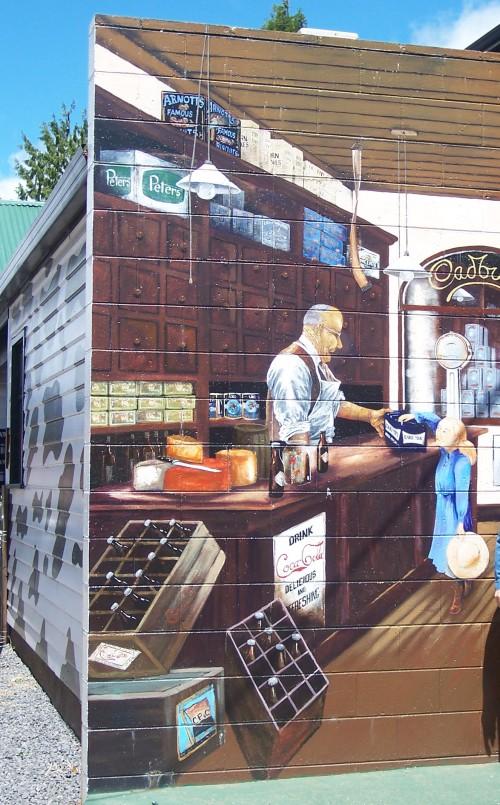 Murals - Sheffield, Tasmania