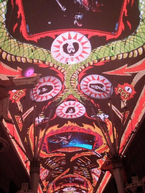 LED Canopy - Fremont St - Las Vegas, Nevada