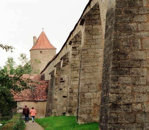 City Wall - Rothenburg ob der Tauber, Germany