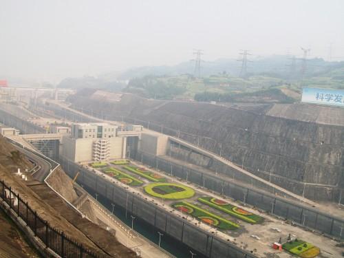Locks at Three Gorges Dam