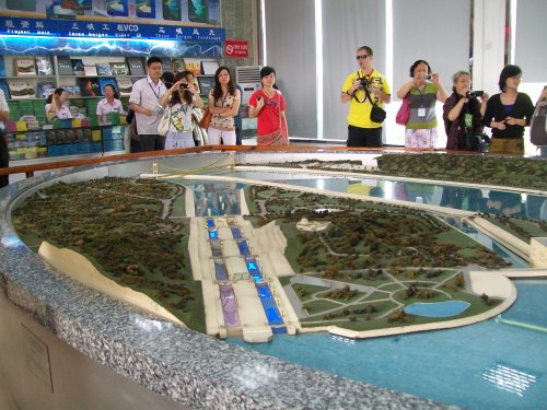 Model of Dam