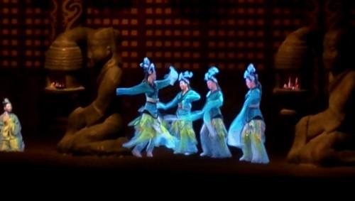 Hologram at Han Tomb - Xi'an, China