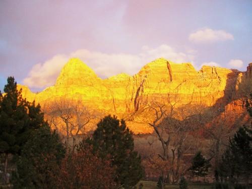 The Watchman - Zion N.P.,  Utah