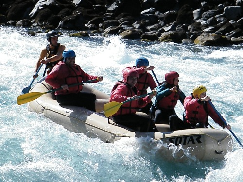 Whitewater Rafting - Petrohue River, Chile