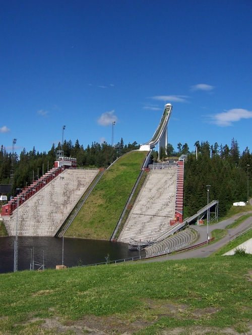 Olympic Ski Jump - Oslo, Norway