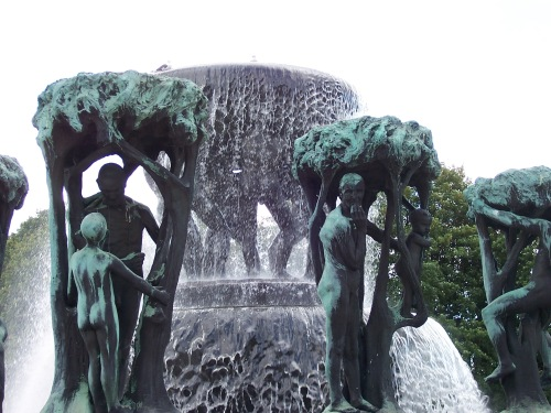 Vigeland Sculpture Fountain