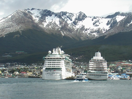 The Andes - Ushuaia, Argentina