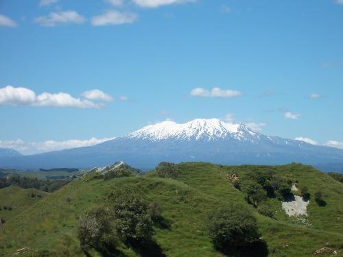 Mount Ruapehu - North Island, New Zealand