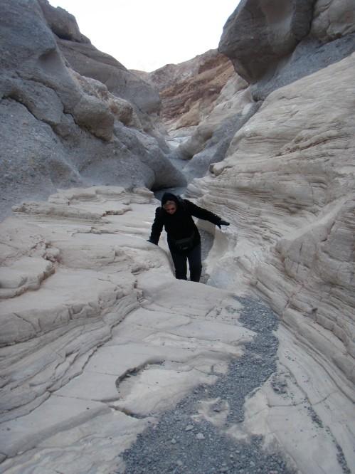 Hiking the Mosaic Canyon