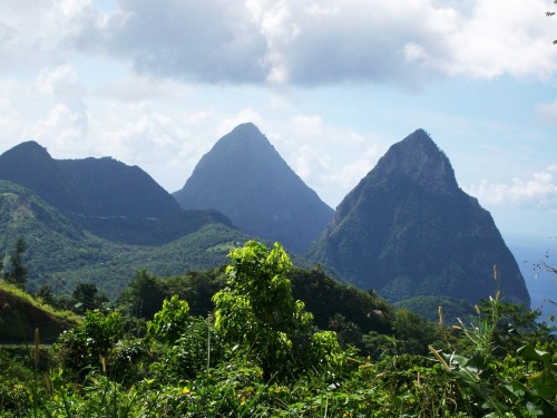 The Pitons - St Lucia