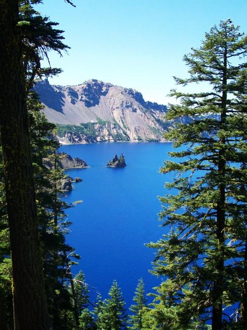 Phantom Ship - Crater Lake National Park, Oregon
