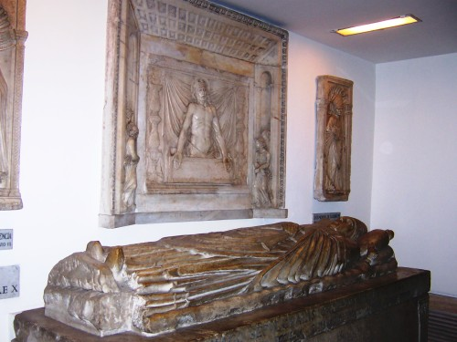 Papal Tombs - Rome, Italy