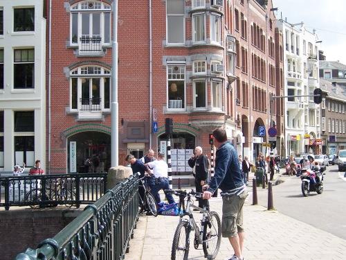 Arrest in Amsterdam