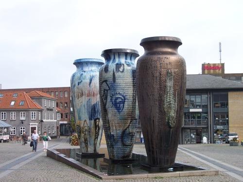 Giant Vases - Roskilde, Denmark