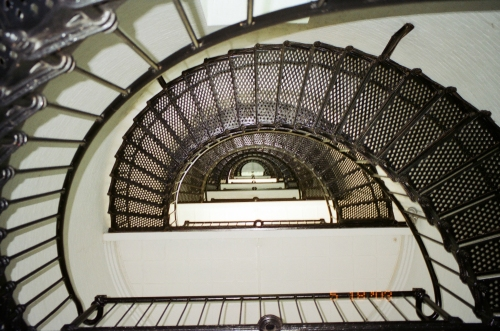 Looking Up - St. Augustine Lighthouse