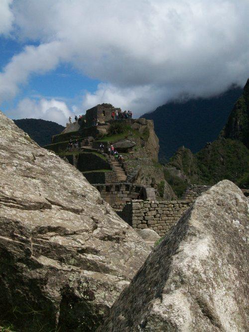 Intihuatana at Machu Picchu, Peru