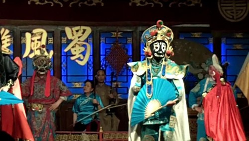 Color Masks of the Sichuan Opera- Chengdu, China