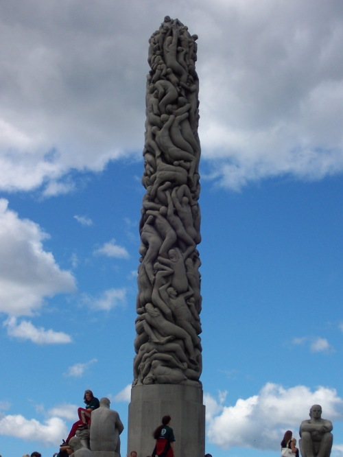 Monolith at Frogner Park - Oslo. Norway