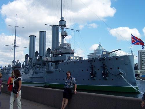 Cruiser Aurora - St. Petersburg, Russia