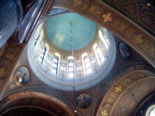Dome of Uspenski Cathedral - Helsinki, Finland