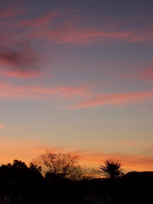 Sunset over Lake Taupo, New Zealand