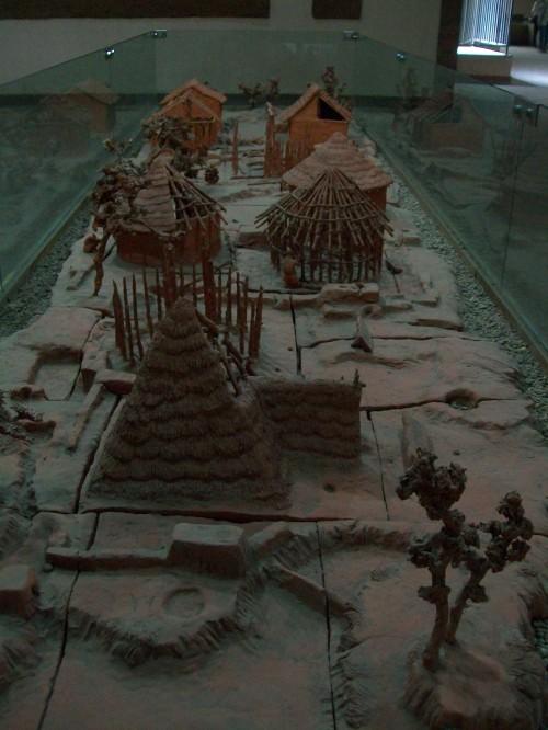 Model of Banpo Neolithic Village - Xi'an, China
