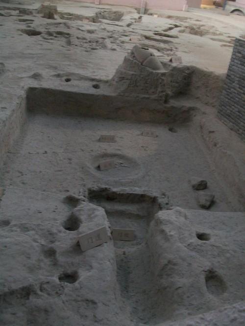 Excavation of Banpo Neolithic Village