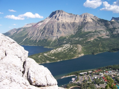 Middle Lake at Waterton National Park