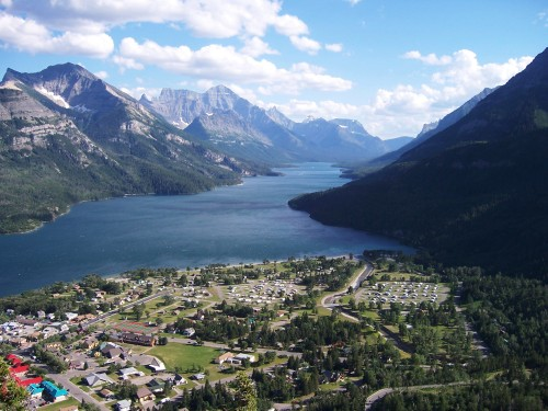 Waterton National Park from Bear Hump