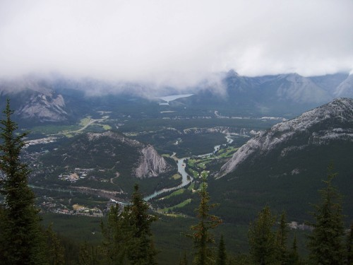 Banff from Sulphur Mountain