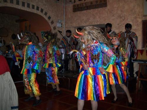 Dancers in Cusco, Peru