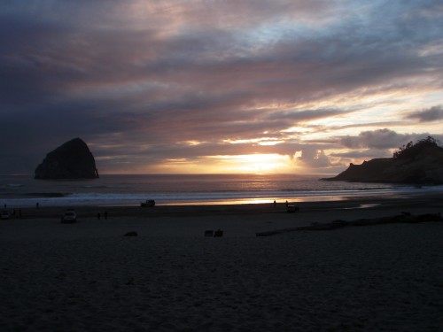 Pacific City Beach, Oregon