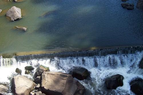 Waterfall in Cataract Gorge - Launceston, Tasmania