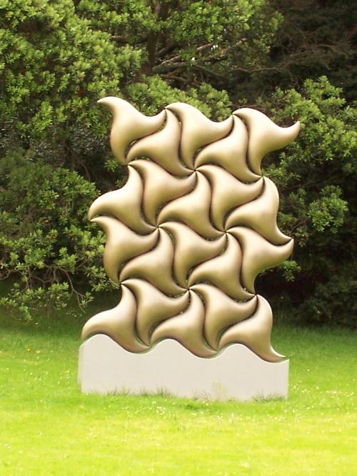 Sculpture in Auckland Domain, New Zealand