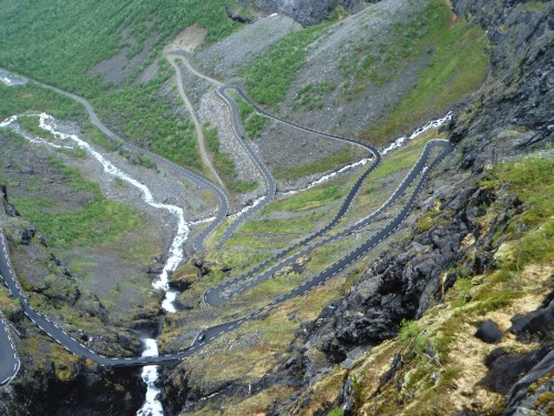 Trollstigen Road - Andalsnes, Norway