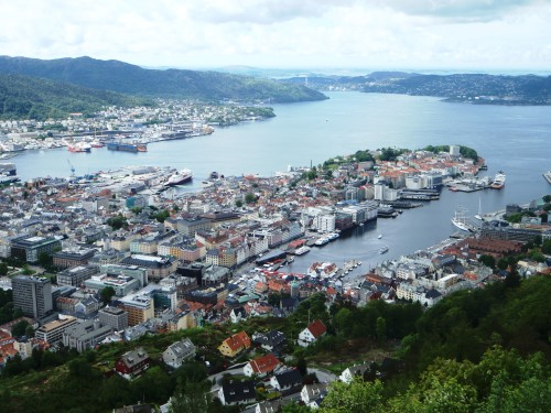 Vågen Harbor - Bergen, Norway