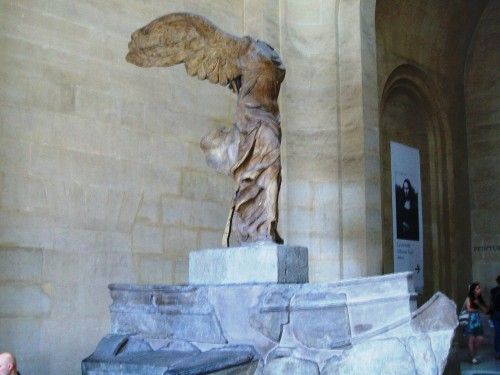 Winged Victory of Samothrace - Unknown Greek Sculpture