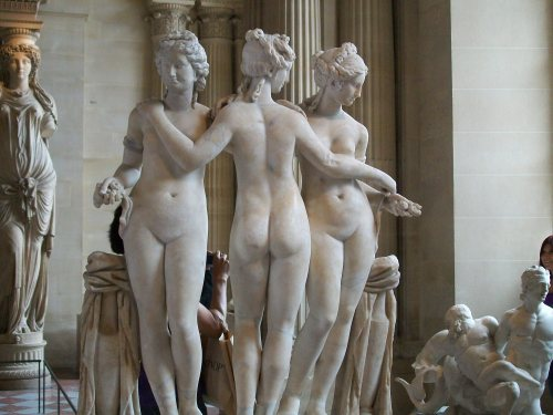 """The Three Graces"" - Unknown Sculpture"