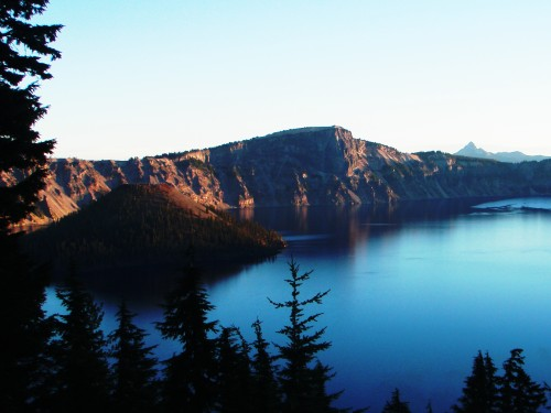 Sunrise over Crater Lake