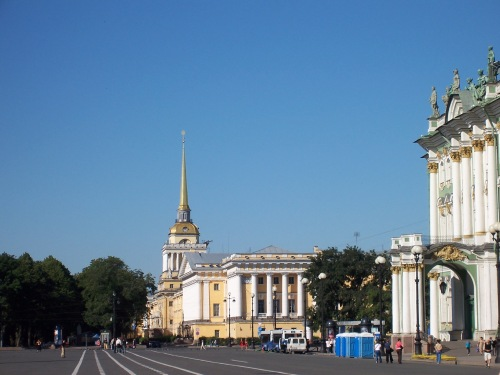The Admiralty - St. Petersburg, Russia