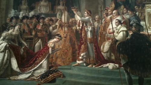The Coronation of Napoleon -  Jacques-Louis David